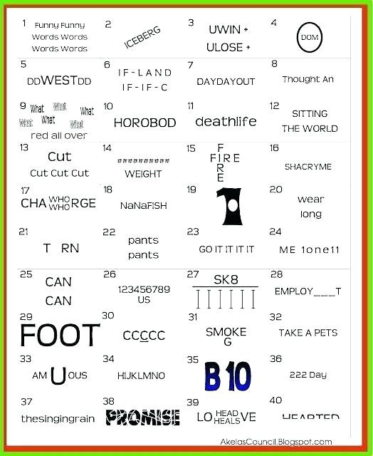 Free Printable Rebus Puzzles top Hard Rebus Puzzles with Answers Printable