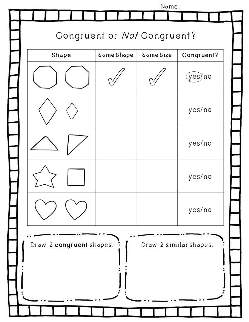 Geometric Shapes Worksheets 2nd Grade 2 D Geometry Pack