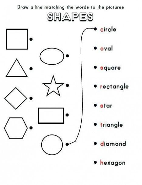 Geometric Shapes Worksheets 2nd Grade 2d Shapes Worksheets First Grade