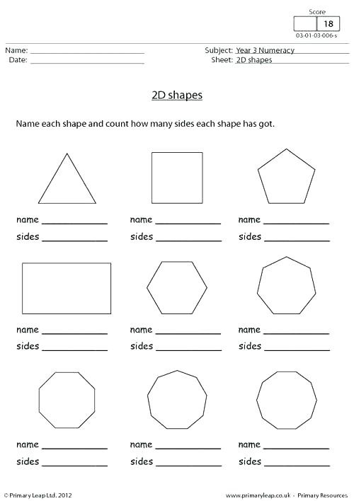Geometric Shapes Worksheets 2nd Grade Shapes Worksheets for Grade 2 Shapes Worksheet Naming