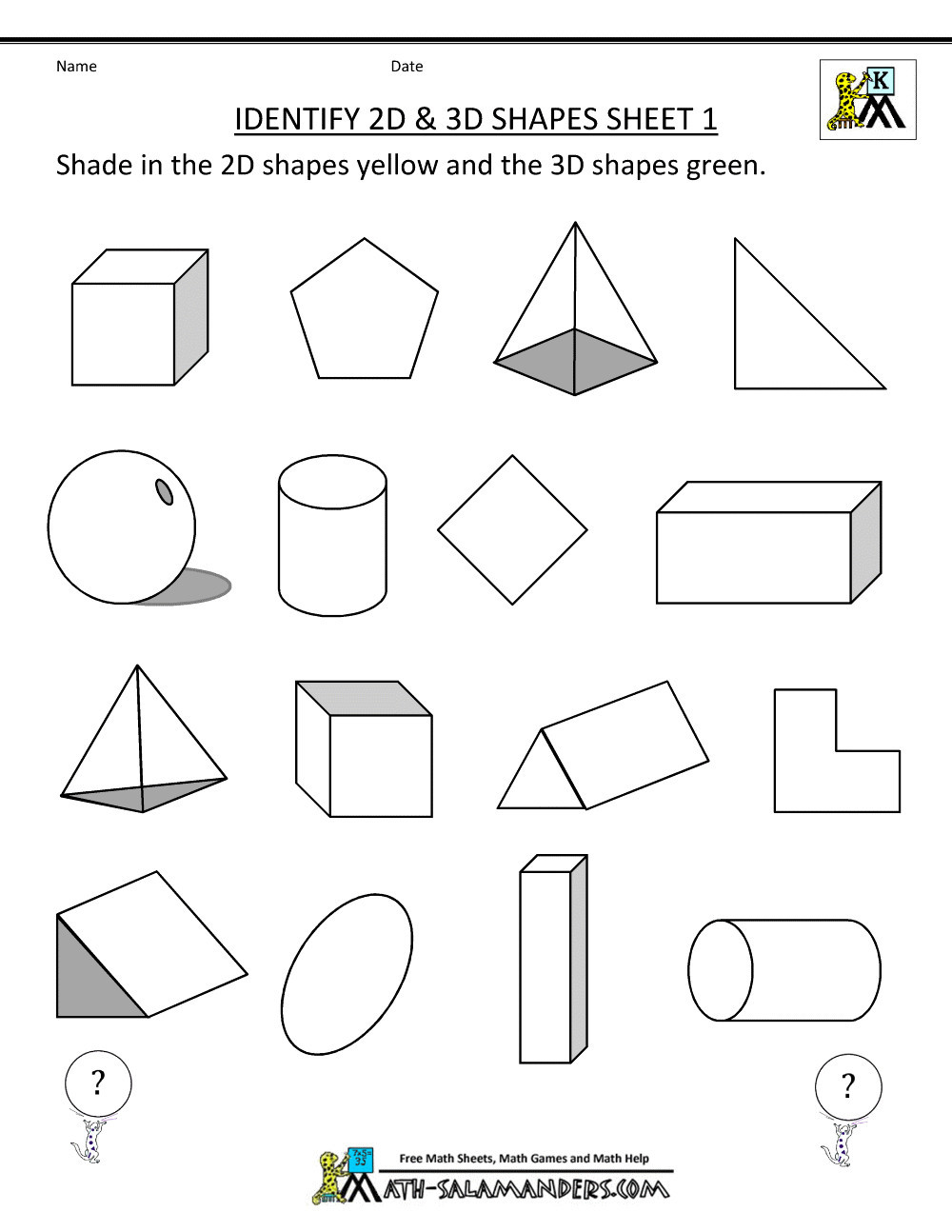 "Geometry Worksheet 2nd Grade Lines Of Symmetry Worksheets Grade 2 لم يسبق له Ù…Ø ÙŠÙ"" الصور"