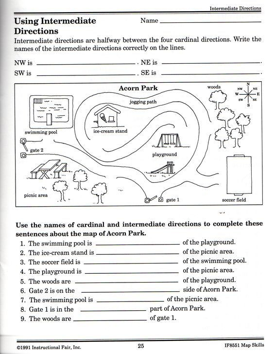 Grid Map Worksheets Grade 2 Free Printable Grid Map Worksheets