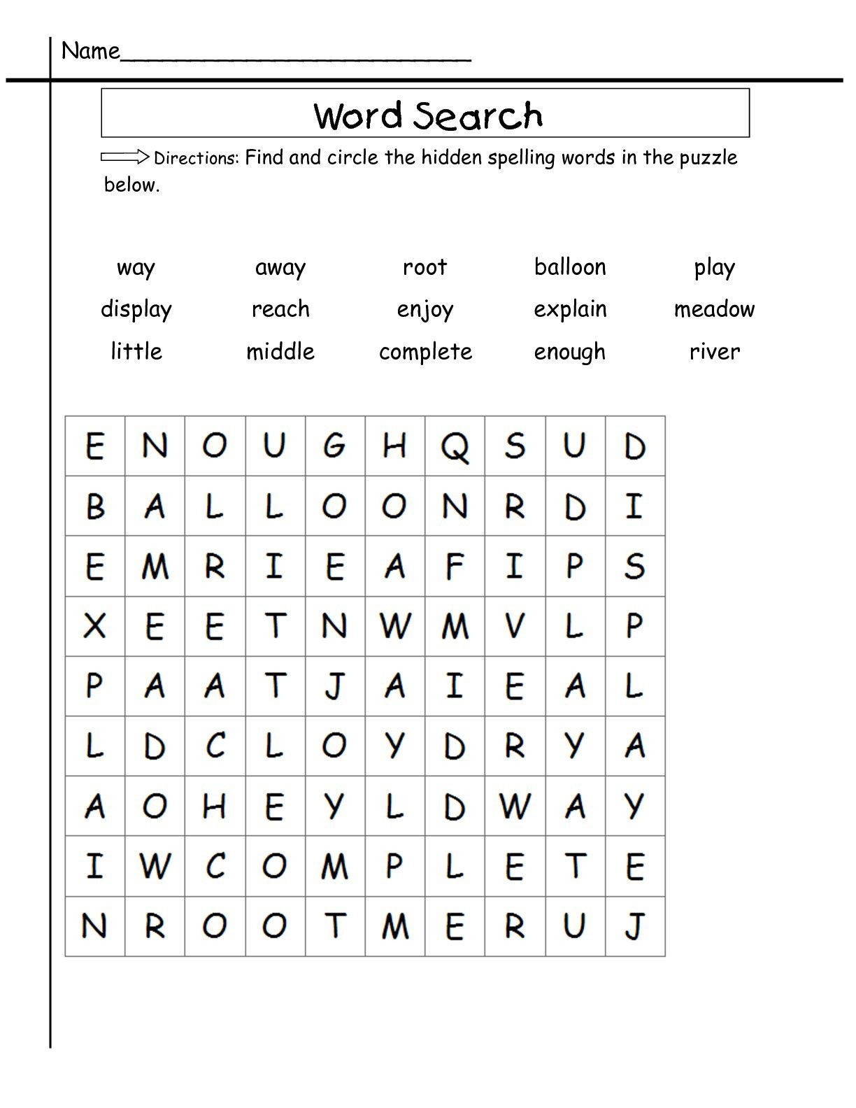 "Irregularly Spelled Words 2nd Grade Spelling Words 2nd Grade Worksheets لم يسبق له Ù…Ø ÙŠÙ"" الصور"