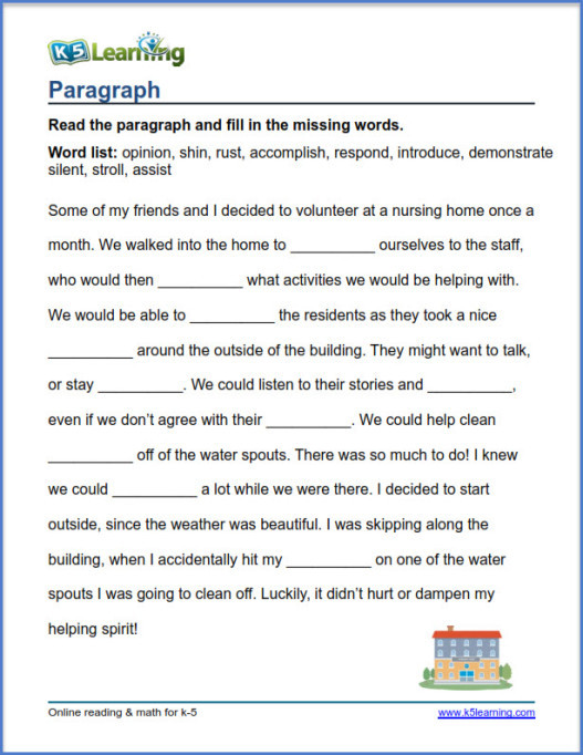 K5 Learning Math Grade 4 Grade 4 Vocabulary Worksheets by K5 Learning