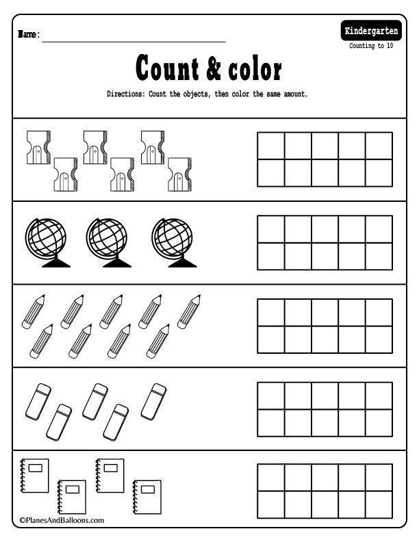 Kindergarten Math Worksheet 15 Kindergarten Math Worksheets Pdf Files to for