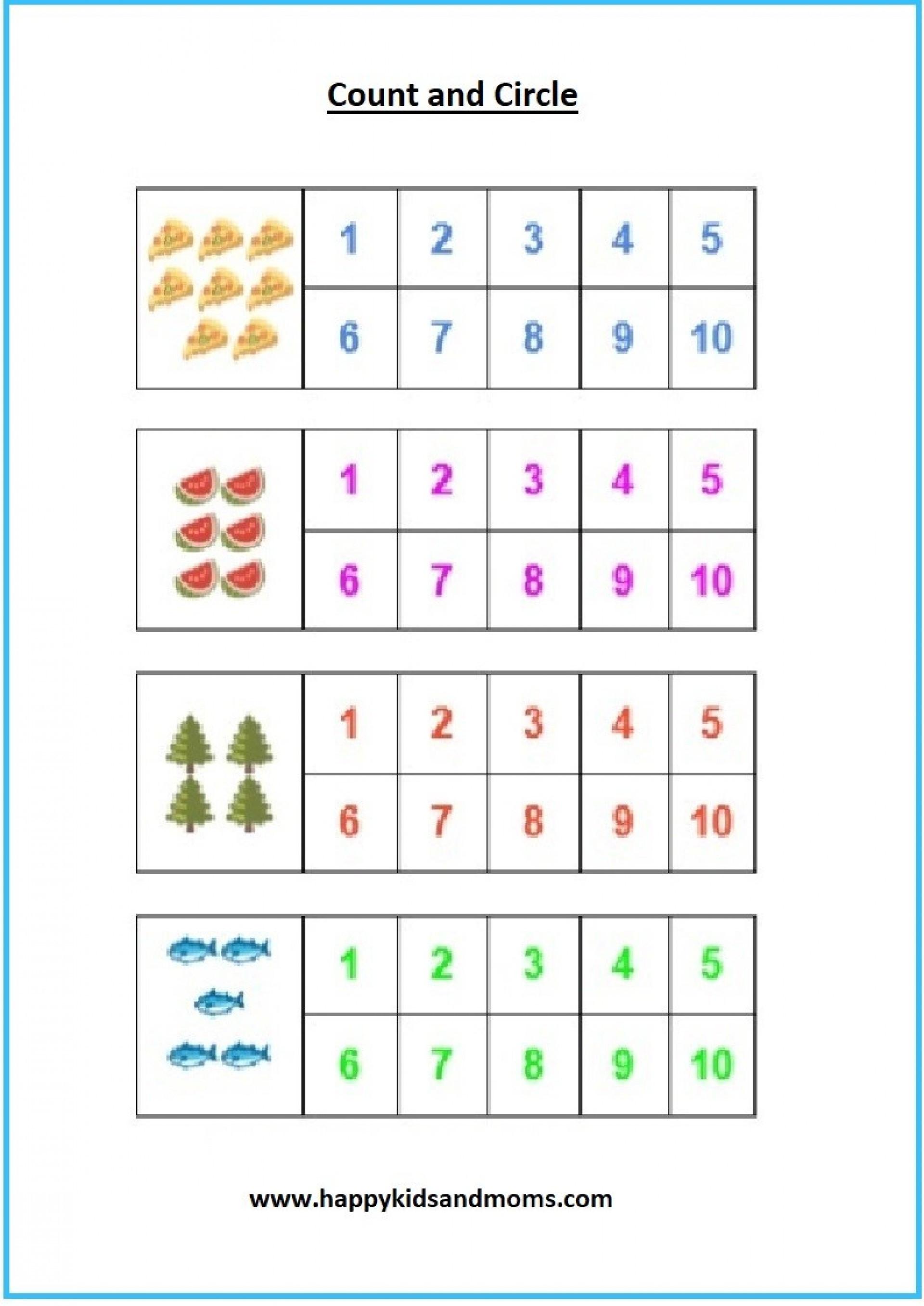 Kindergarten Math Worksheet Kindergarten Math Worksheets Pdf for Educations