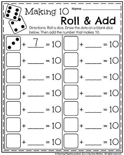 Kindergarten Math Worksheet Kindergarten Worksheets for May
