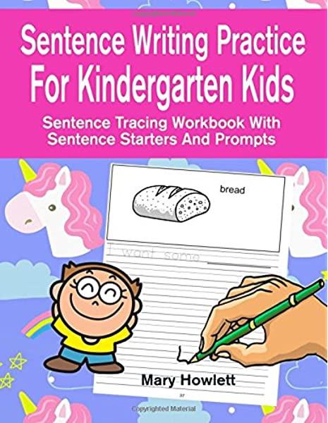 Kindergarten Sentence Starters Sentence Writing Practice for Kindergarten Kids Sentence