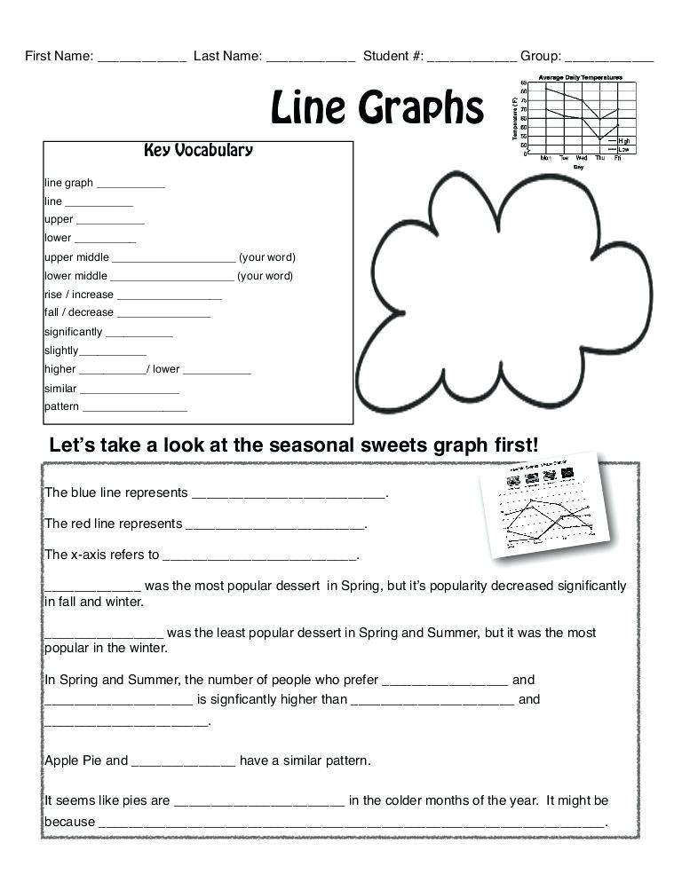 Line Graph Worksheets 5th Grade Line Graph Worksheets Graphs and Charts Worksheet Preview