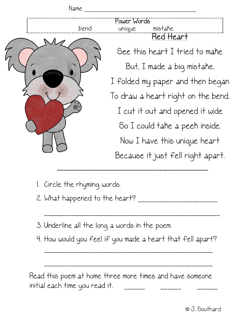 Mammals Worksheet First Grade 1st Grade Worksheet Reading to Print 1st Grade Worksheet