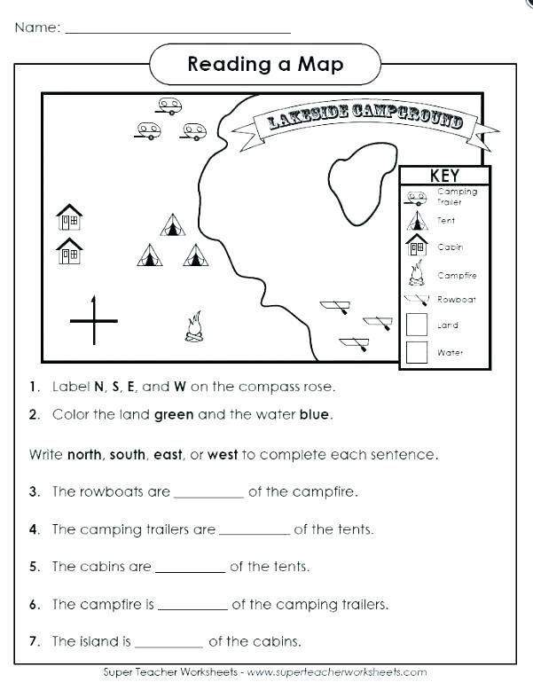 Map Skills Worksheet 2nd Grade Free Map Skills Worksheets Map Skills Worksheets Map Skills
