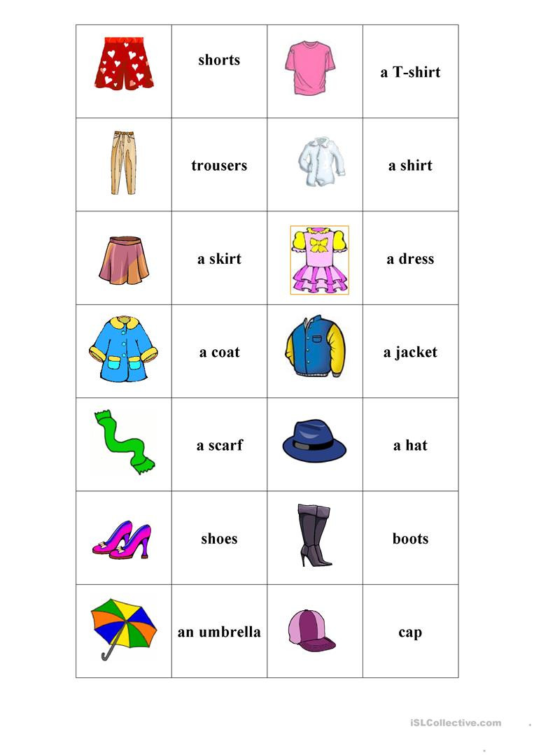 clothes memory game activities promoting classroom dynamics group form 1