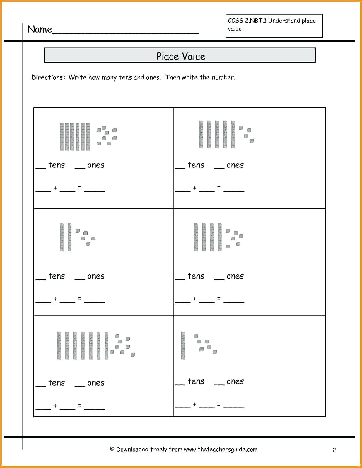 Missing Number Worksheets 2nd Grade 4 Free Math Worksheets Second Grade 2 Subtraction