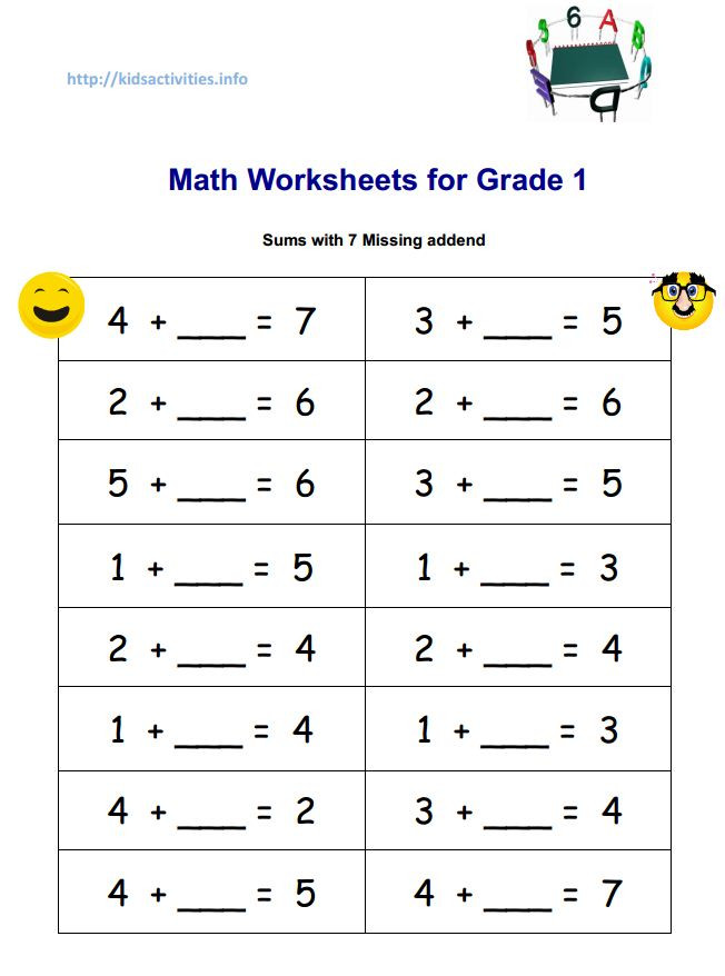 Missing Number Worksheets 2nd Grade Missing Number Addition Worksheets & Worksheet
