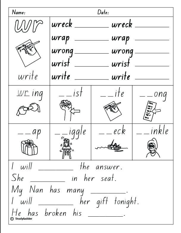 Phonics Worksheets Grade 1 Phonics Worksheets for Grade 1 – Dailycrazynews