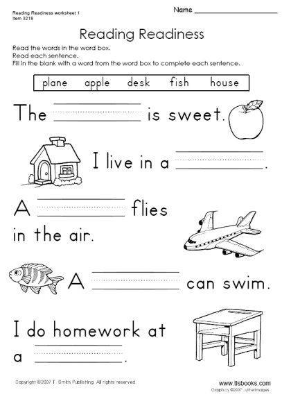 Phonics Worksheets Grade 1 Snapshot Image Of Reading Readiness Worksheet 1