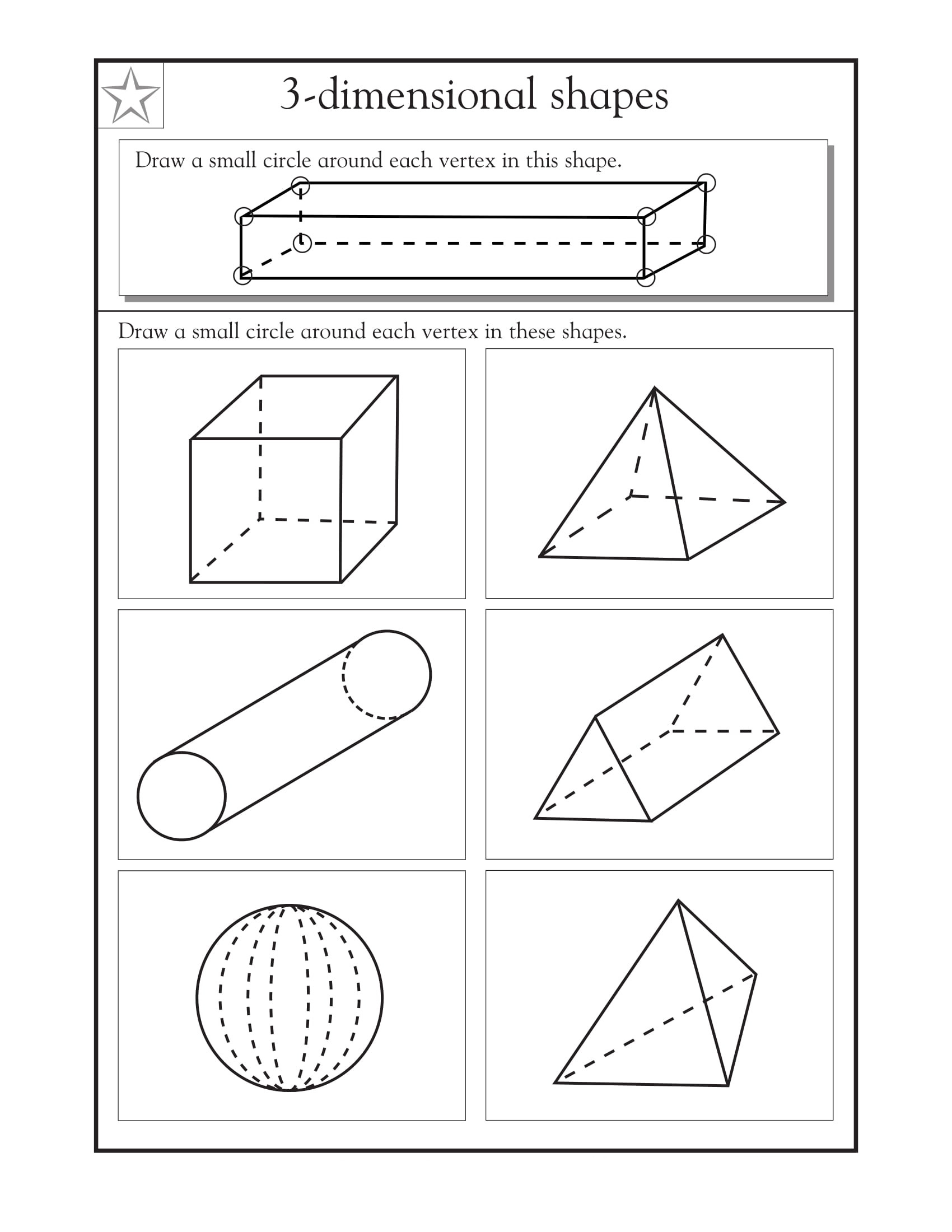Polygon Worksheets 4th Grade 4th Grade Math Worksheets Best Coloring Pages for Kids