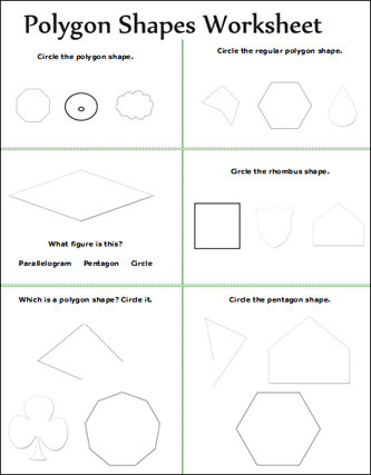 Polygon Worksheets for 2nd Grade Geometry Geometry Worksheet for Kids