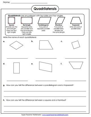 Polygon Worksheets for 2nd Grade Polygon Worksheets
