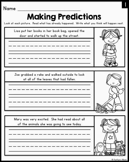Predictions Worksheets 1st Grade the Best Of Teacher Entrepreneurs Ii Making Predictions