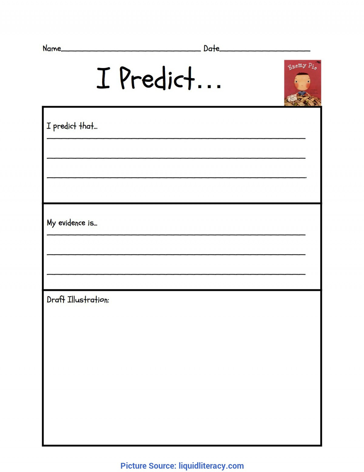 Predictions Worksheets 1st Grade Workshop Classroom Making Inferences Mini Lessons