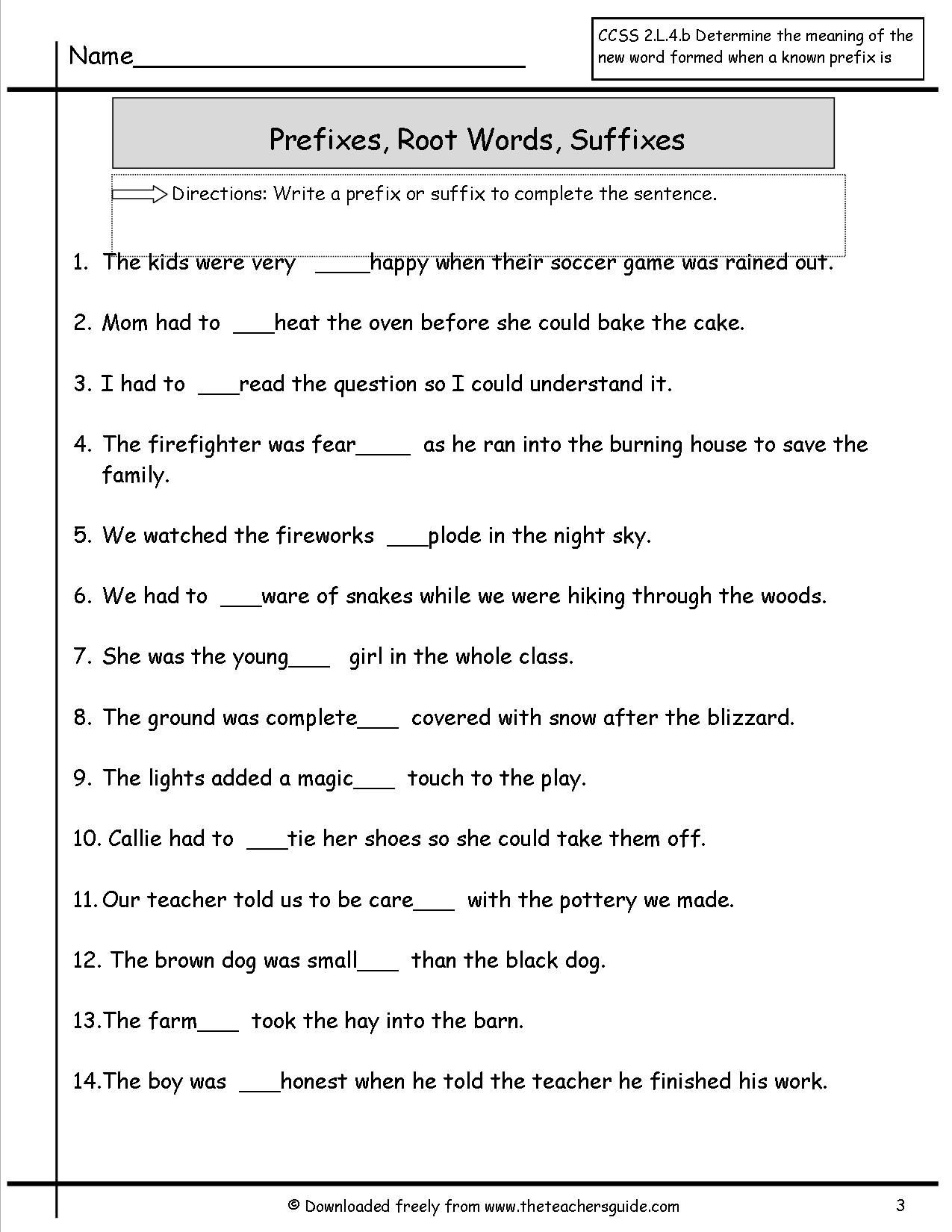 Prefixes Worksheets 4th Grade 41 Innovative Prefix Worksheets for You