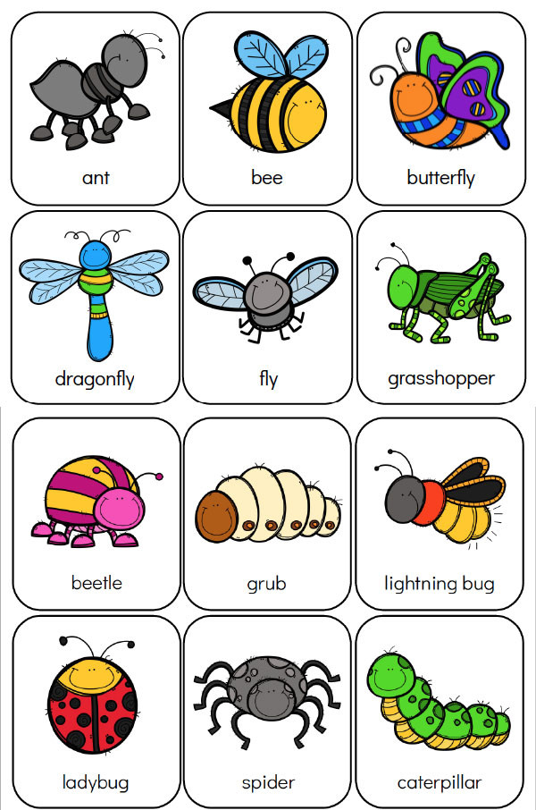 Preschool Bug Worksheets Printable Preschool Bug Activities for Learning & Fun
