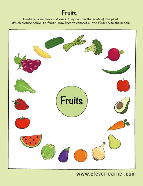 Preschool Fruits and Vegetables Worksheets Fruits and Ve Ables Preschool Worksheets