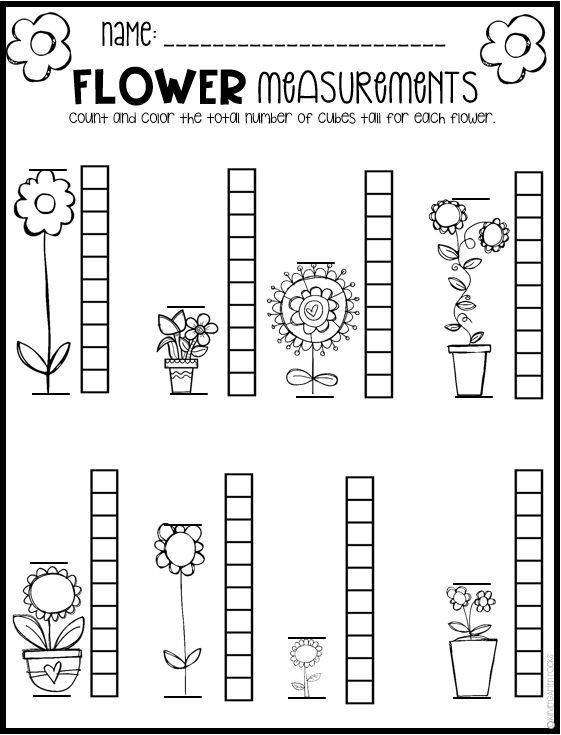 Preschool Math Worksheets Spring Math and Literacy Worksheets for Preschool Distance