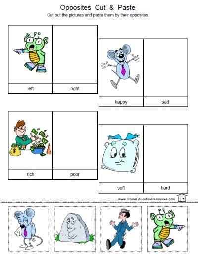 Preschool Opposites Worksheets Oppositesworksheets4 400—529