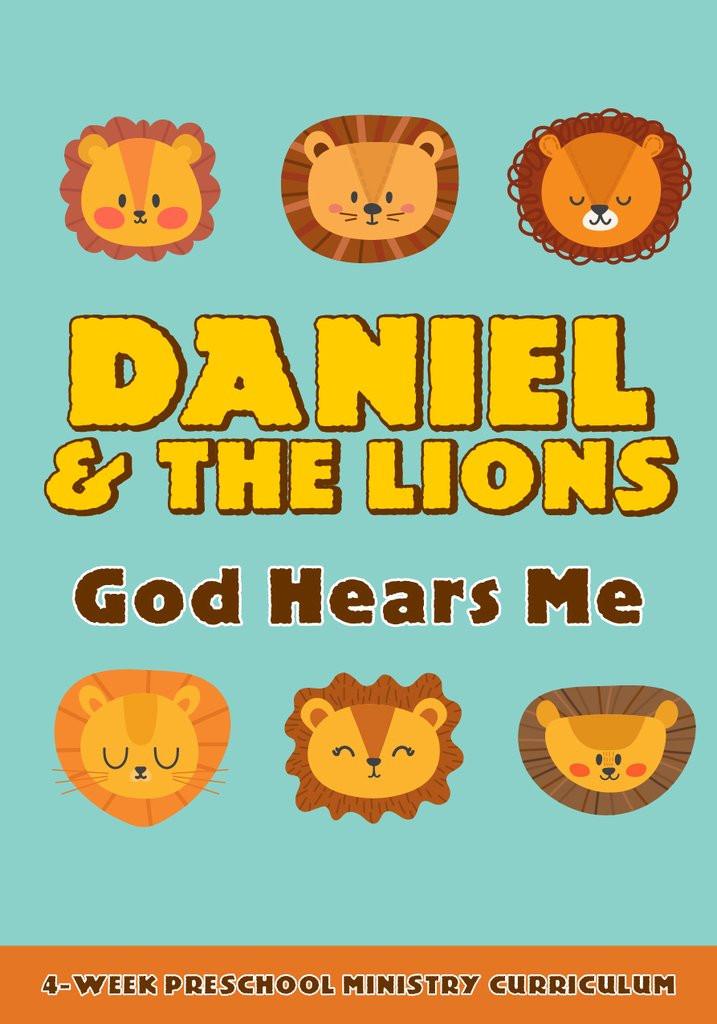 Preschool Palace Curriculum Daniel and the Lions 4 Week Preschool Ministry Curriculum