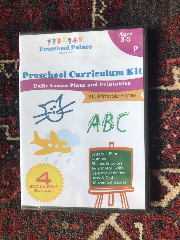 Preschool Palace Curriculum Preschool Curriculum Kit On Carousell
