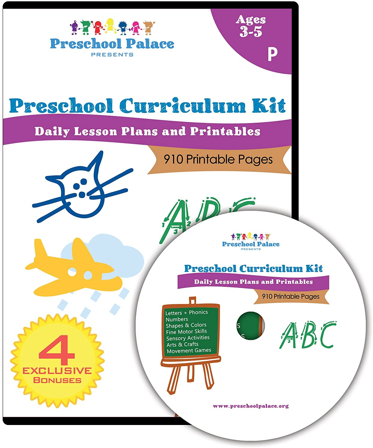 Preschool Palace Curriculum the Ultimate Preschool Curriculum Kit Printable Workbooks Lesson Plans and Learning Activities for Preschoolers Pre K Kids and toddlers Ages 3