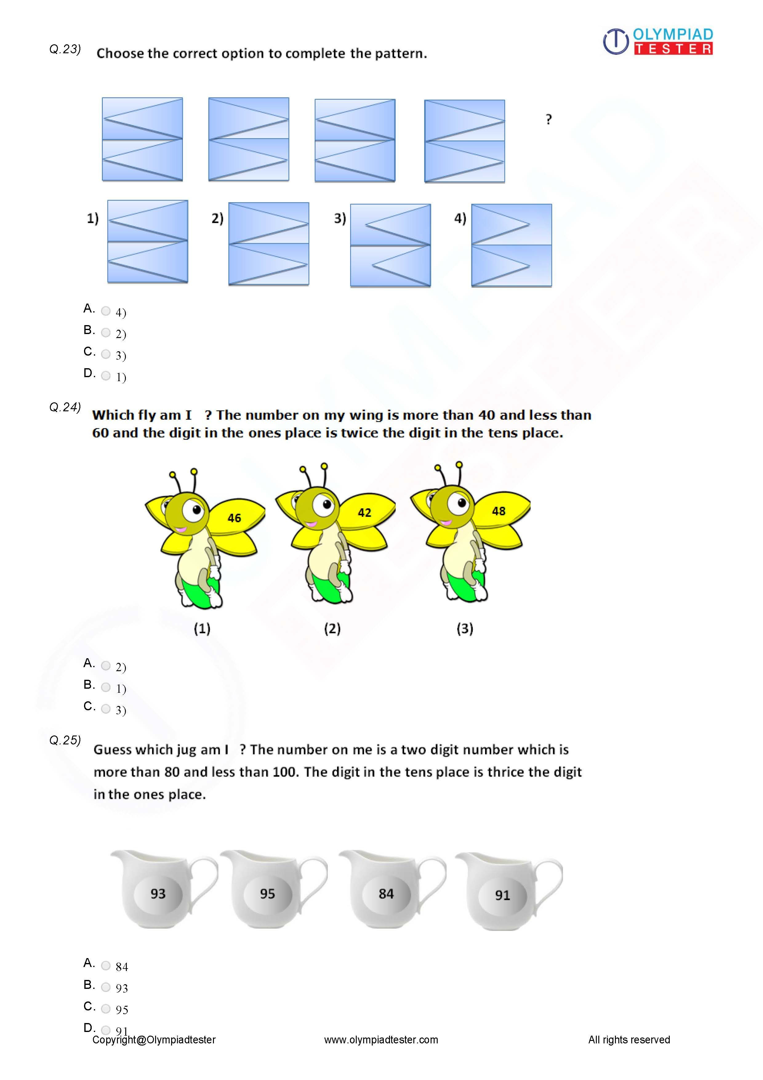 Reasoning Worksheets for Grade 1 Class 3 Logical Reasoning Worksheet 12 Download This