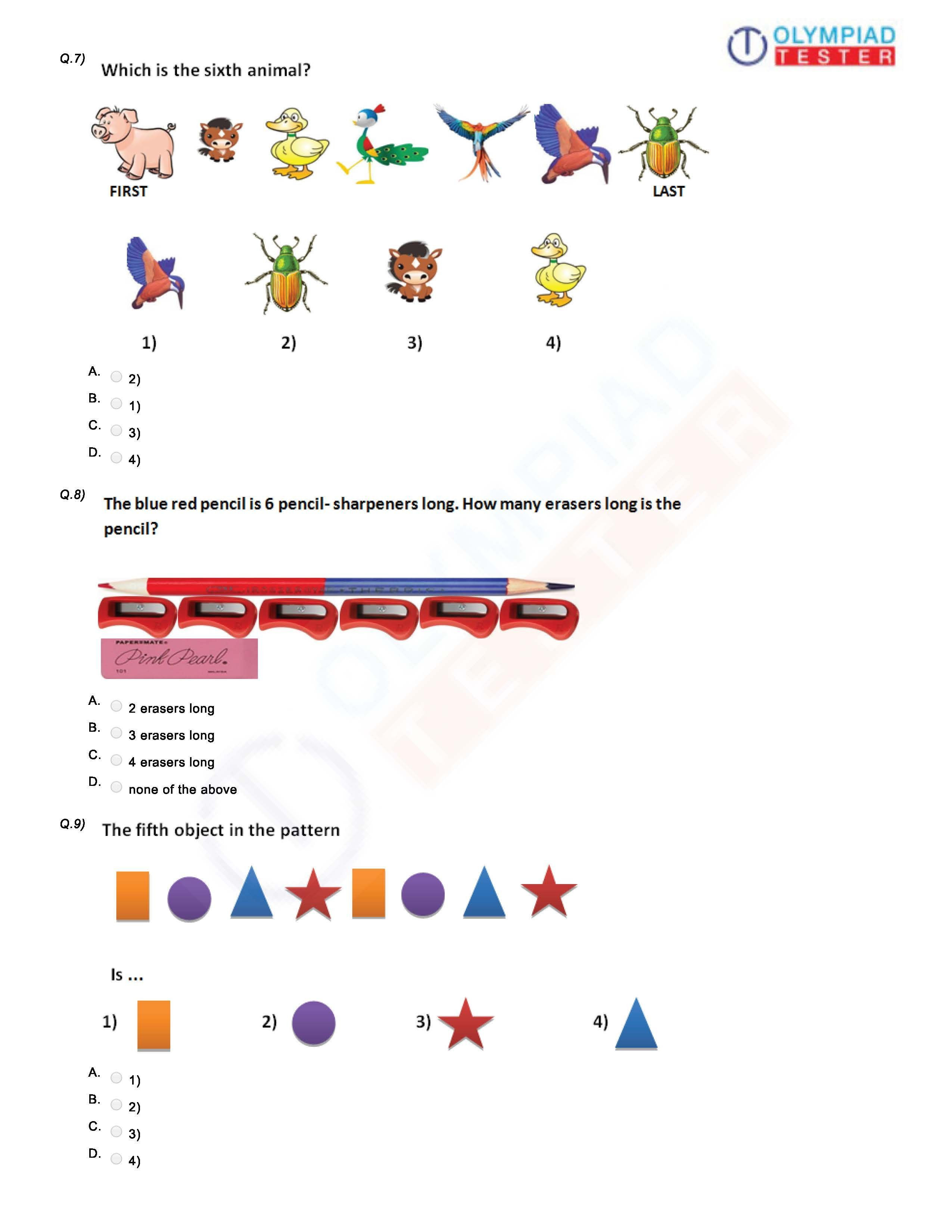 Reasoning Worksheets for Grade 1 Download Grade 1 Printable Worksheets On Logical Reasoning