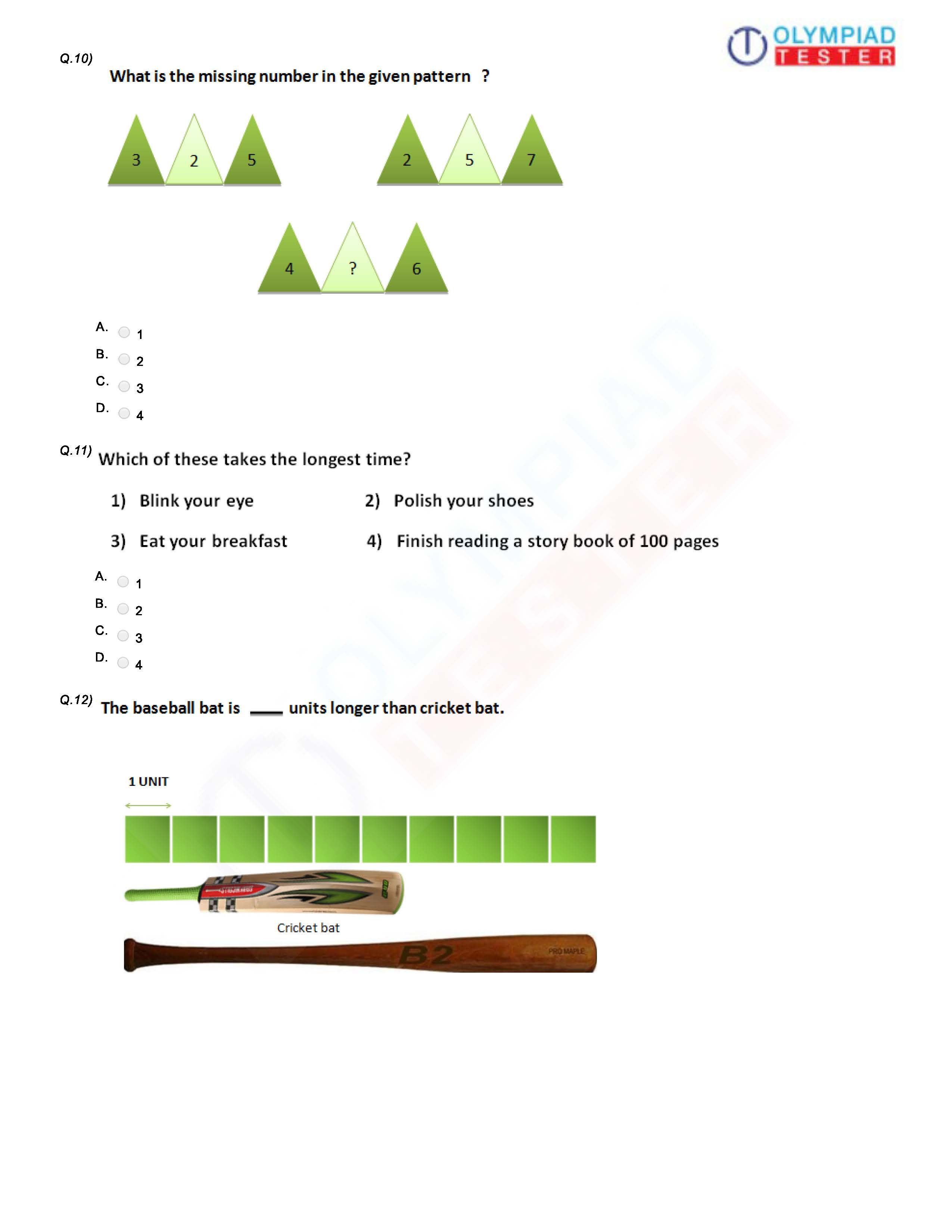 Reasoning Worksheets for Grade 1 Pin On Best Grade 1 Olympiad Worksheets and Sample Papers