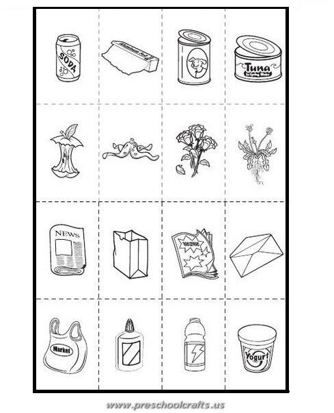 Recycling Worksheets for Preschoolers Free Printable Earth Day Worksheets for Kids Preschool and
