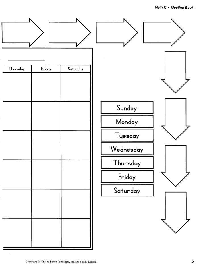 Saxon Math Kindergarten Worksheets Kindergarten Math Homeschool Plete Kit 1st Edition From Saxon Math