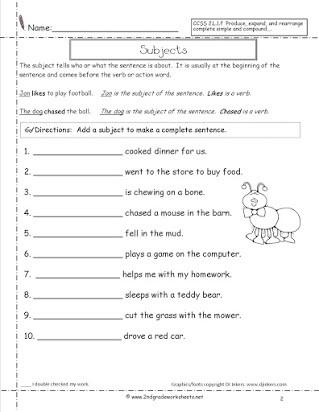 Scrambled Sentences Worksheets 2nd Grade Free Sentence Correction Worksheets for 2nd Grade