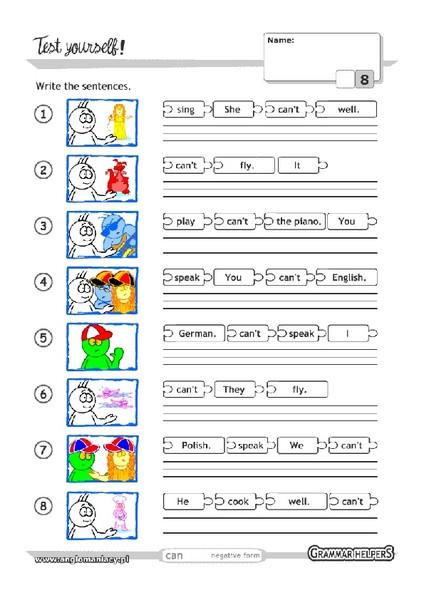 Scrambled Sentences Worksheets 2nd Grade Scrambled Sentences Worksheet for 1st 2nd Grade
