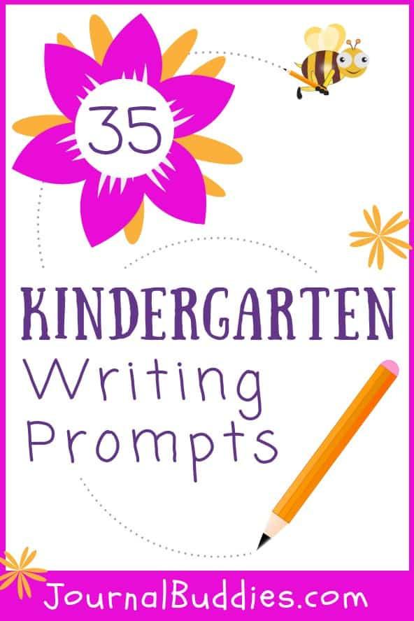 Sentence Starters for Kindergarten 35 Kindergarten Writing Prompts • Journalbud S