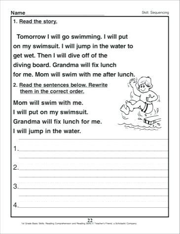 Sequence Worksheets 3rd Grade September 25 2018 – Timothyfregosoub