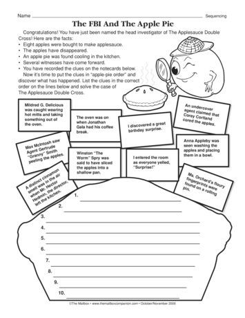 Sequence Worksheets 5th Grade Sequencing Worksheet the Fbi and the Apple Pie the