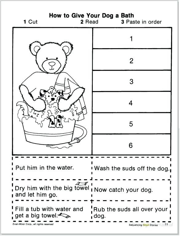 Sequence Worksheets for 1st Grade Free Sequencing Worksheets for 1st Grade – Keepyourheadup