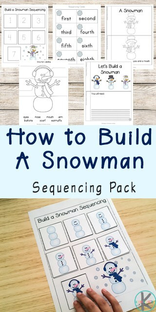 Sequencing Worksheet First Grade Snowman Sequencing Worksheets