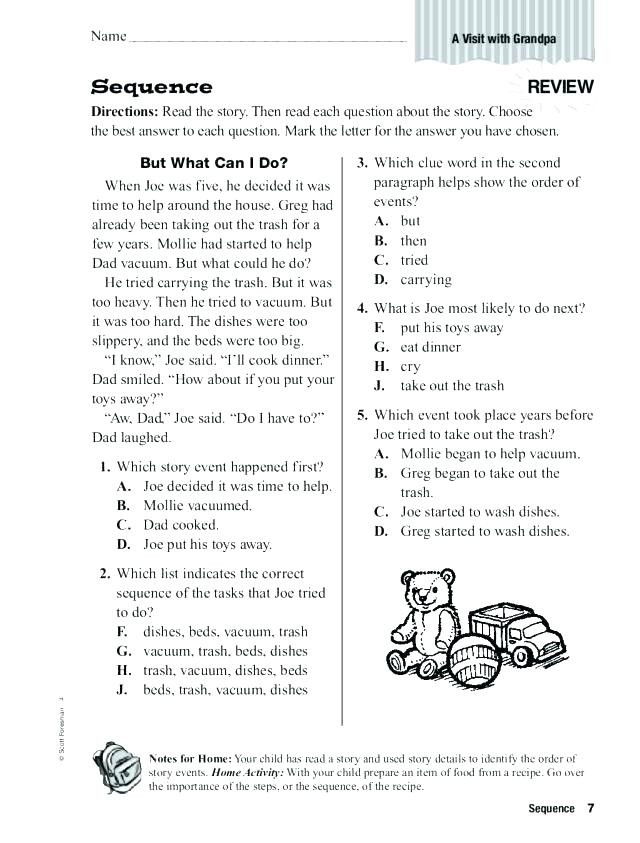 Sequencing Worksheets 5th Grade Sequencing events Worksheets Sequence events Worksheets