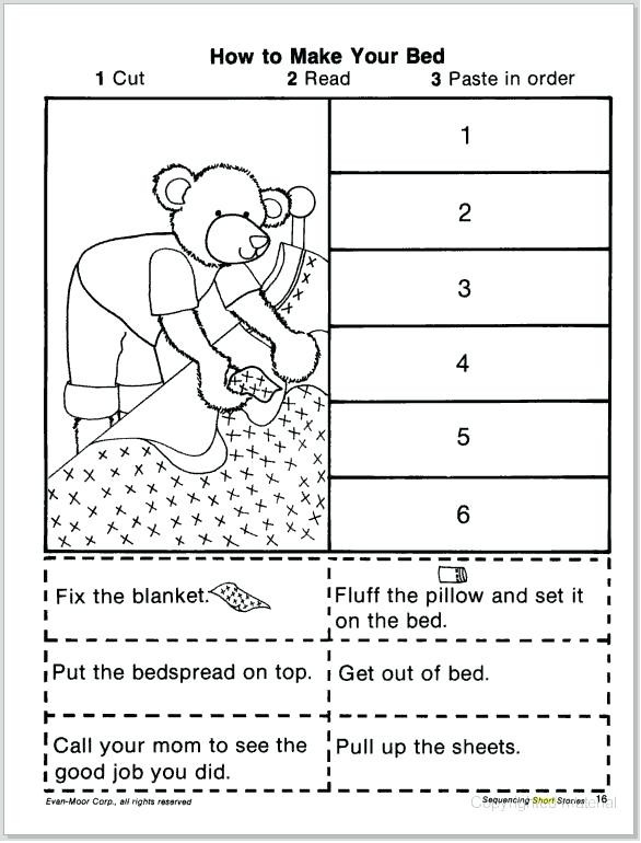 Sequencing Worksheets for 1st Grade Sequencing Worksheets 1st Grade Best solutions