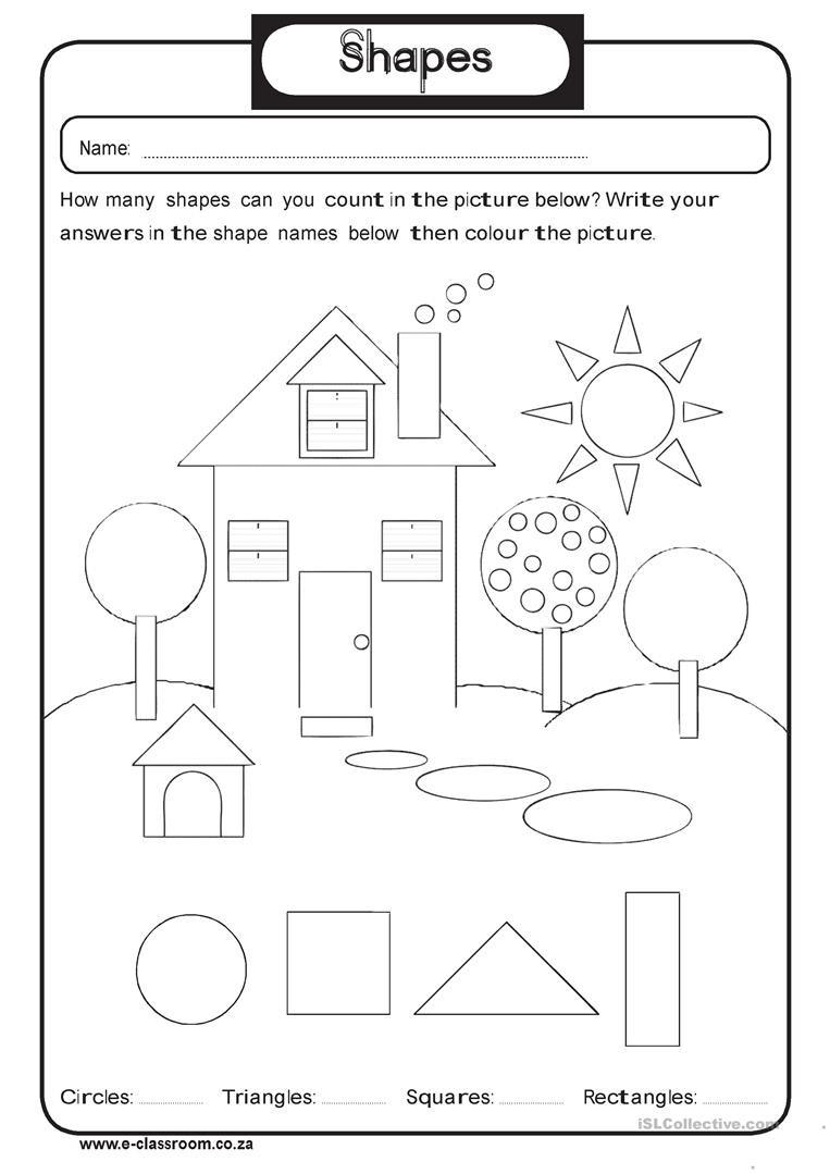 Shapes Worksheets 2nd Grade 2nd Grade Shapes Barbara Pentikis Lessons Tes Teach