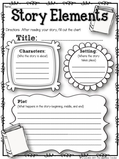 Story Elements Worksheets 2nd Grade 7 2nd Grade Story Elements Worksheet Grade