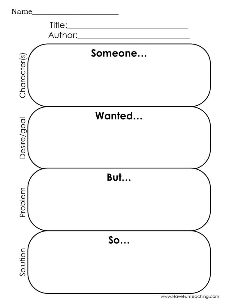Story Elements Worksheets 2nd Grade Story Elements Reading Graphic organizer Worksheet